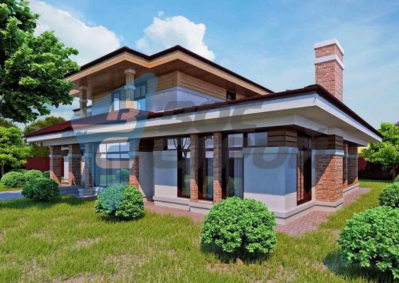 Строительство дома из бруса с компанией
